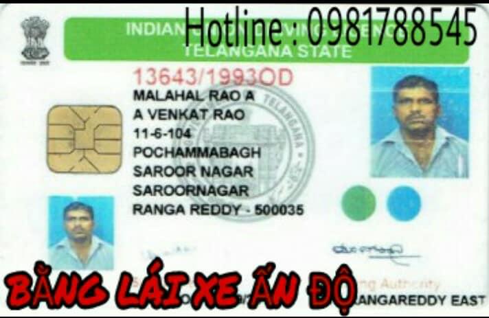 đổi giấy phép lái xe nước ngoài
