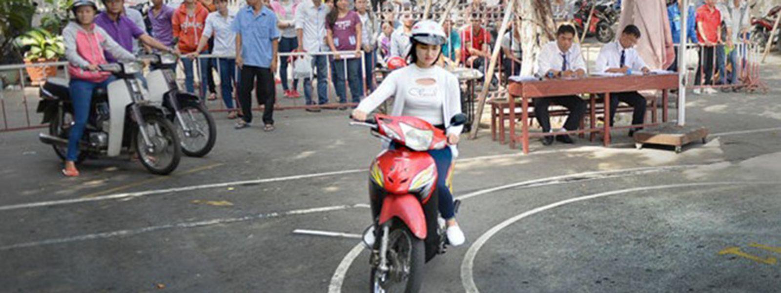 Những điều cần biết khi thi đi thi giấy phép lái xe mô tô hạng A1
